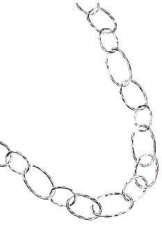 New Directions Single Strand Silver Necklace