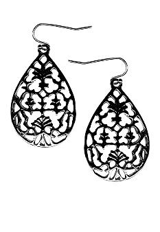 New Directions Filigree Teardrop Earrings