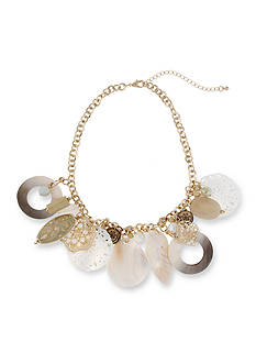New Directions Gold-Tone In The Sand Statement Necklace