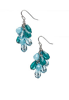 New Directions Teardrop Bead Cluster Earring