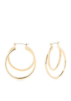 New Directions Kristy Double Hoop Earrings
