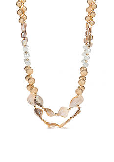 New Directions Gold-Tone In The Sand Collar Necklace