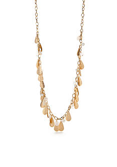 New Directions Gold-Tone In The Sand Long Necklace