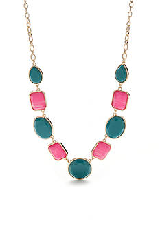 New Directions Gold-Tone Summer Brights Collar Necklace