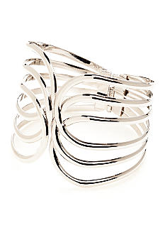 New Directions® Open Work Hinged Bangle