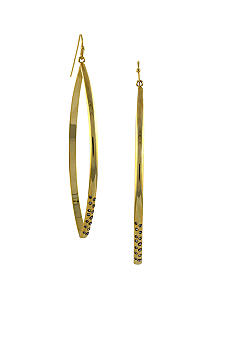 BCBGeneration Gold Tone Lemon Drop Earring