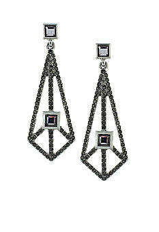 BCBGeneration Rolling Stone Silver Kite Earrings