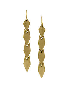 BCBGeneration Gold Apache Linear Earrings