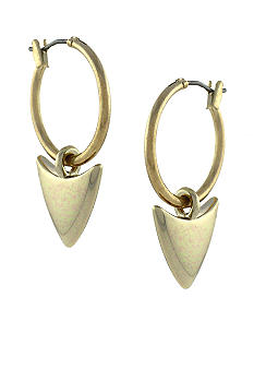 BCBGeneration Beatrix Kiddow Gold Arrow Earrings