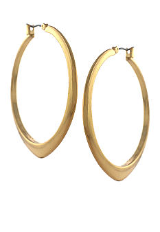 BCBGeneration Core Strength Gold Hoop Earrings