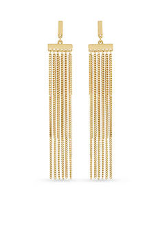 BCBGeneration Fringe Benefits Drop Earrings
