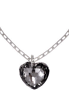 BCBGeneration Faceted Stone Heart Pendant