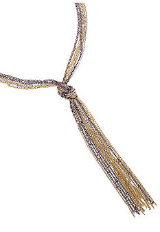 BCBGeneration Fringe Chain Necklace