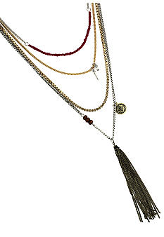 BCBGeneration Gold Apache Multi-Strand Necklace