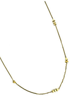 BCBGeneration Gold Apache Pyramid Station Necklace