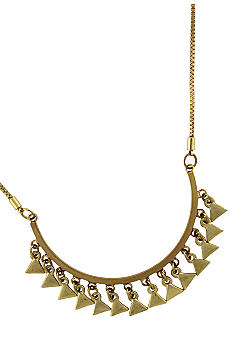 BCBGeneration Gold Apache Frontal Necklace