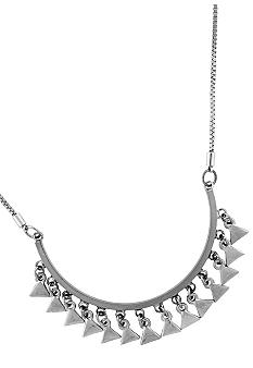 BCBGeneration Silver Apache Frontal Necklace