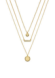 BCBGeneration Gold-Tone Find Your Path Layered Necklace