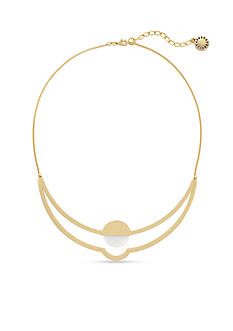 BCBGeneration Gold-Tone She Sells Seashells Collar Necklace