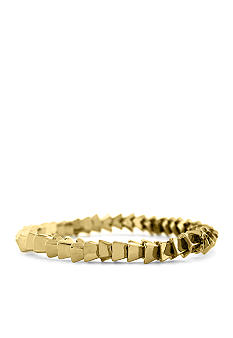 BCBGeneration Gold Apache Pyramid Stretch Bracelet