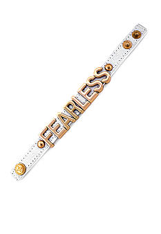 BCBGeneration Canvas Affirmation Bracelet