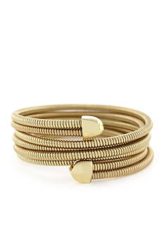 BCBGeneration Coil Stretch Wrap Bracelet