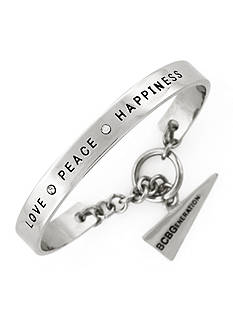 BCBGeneration Love Peace Happiness Bracelet