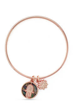 BCBGeneration Rose Gold-Tone Blessed Charm Bangle Bracelet