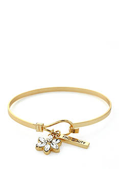 BCBGeneration Infinity Flower Charm Bracelet