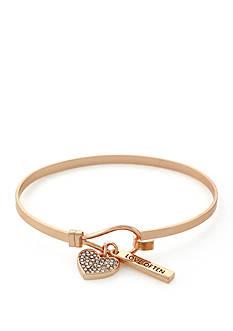 BCBGeneration Infinity Heart Charm Bracelet