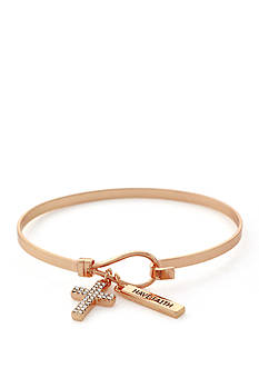 BCBGeneration Infinity Cross Charm Bracelet