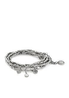 BCBGeneration Silver-Tone Star Charm Bracelet