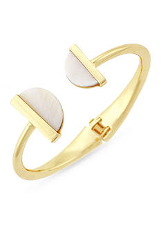 BCBGeneration Gold-Tone She Sells Seashells Cuff Bracelet