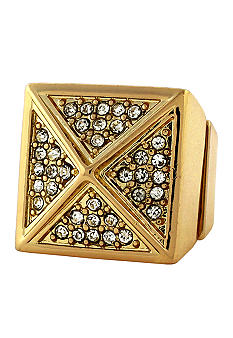 BCBGeneration Gold Vaulted Angles Ring