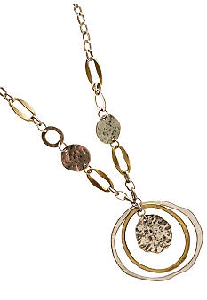 Ruby Rd Utility Chic Chain Necklace   Ruby Rd Utility Chic Collection.