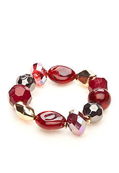 Ruby Rd Black Magic Red Collection Bracelet