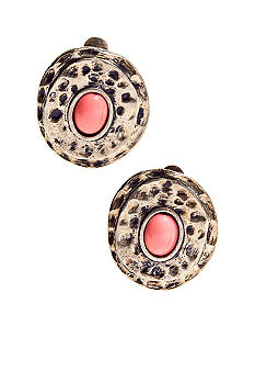 Ruby Rd The Great Escape Collection Clip Earrings