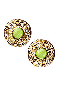 Ruby Rd Cocoa Beach Collection Clip Earrings