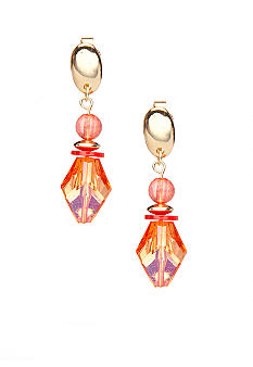 Ruby Rd High Voltage Collection Clip Earrings
