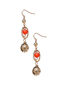 Ruby Rd Citrus Splash Collection Earrings