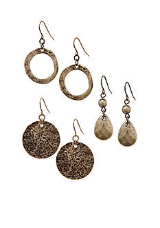 Ruby Rd Ruby Metal Items Collection Earrings