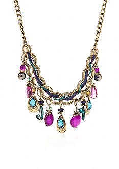 Ruby Rd Gold-Tone La Boheme Collection Frontal Necklace