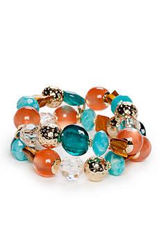 Ruby Rd Gold-Tone Sierra Sunset Stretch Bracelet