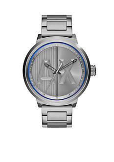 Armani Exchange AX Men's AX Street Stainless Steel 3 Hand Watch