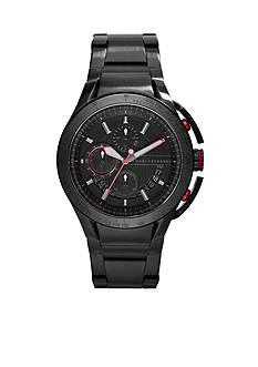 Armani Exchange AX Men's Black Stainless Steel Chronograph Watch