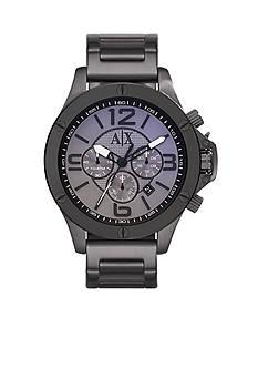 Armani Exchange AX Men's Gunmetal Stainless Steel Chronograph Watch