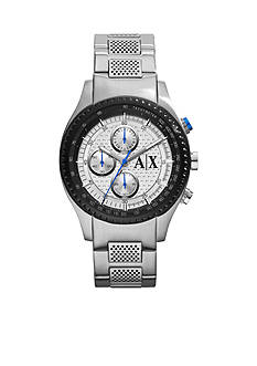 Armani Exchange AX Men's Stainless Steel Chronograph Watch<br>