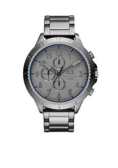 Armani Exchange AX Men's Street Gunmetal IP Stainless Steel Chronograph Watch