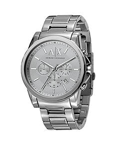 Armani Exchange AX Men's Active Chronograph Stainless Steel Watch