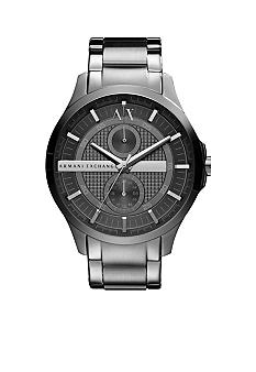 Armani Exchange AX Men's Whitman Grey Stainless Steel Round Watch